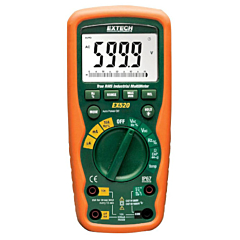 Extech Instruments EX520 Digital Multimeter - 11-Function Heavy Duty 6000-Count True-RMS