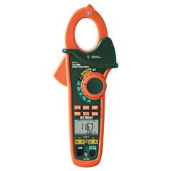 Extech Instruments EX613 Clamp-on Multimeter - 400 AC/DCA, 600 AC/DCV, Freq, Res, Cap, Temp True-RMS + NCV