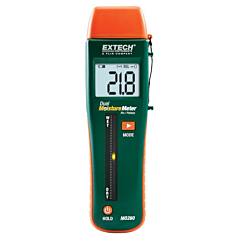 Extech Instruments MO260 Combination Pin/Pinless Moisture Meter