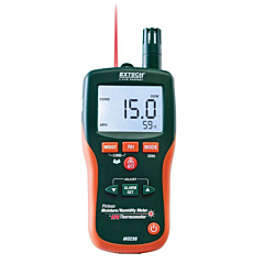 Extech Instruments MO290 Pinless Moisture Psychrometer w/IR Thermometer