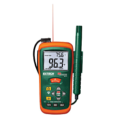 Extech Instruments RH101 Hygro-Thermometer & InfraRed Thermometer -58-932°F (-50-500°C)