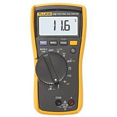 Fluke Electronics FLUKE-116 Digital Multimeter - 600 AC/DCV True-RMS, 600 AC/DCuA, Diode, Cap, Res, Cont, Freq & Temp w/AutoVolt & VOLCHEK LoZ