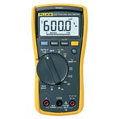 Fluke Electronics FLUKE-117 Digital Multimeter - 600 AC/DCV True-RMS, 10 AC/DCA, Diode, Cap, Res, Cont & Freq w/AutoVolt & VOLCHEK LoZ