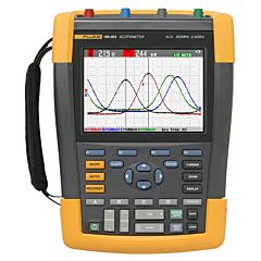 Fluke Electronics FLUKE-190-204/AM Digital Scopemeter - 200 MHz, 4-Ch w/2.5 GS/s (2ch) & 1.25 GS/s (4ch) per ch.
