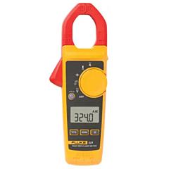 Fluke Electronics FLUKE-324 Digital Clamp-on Meter - 40/400 ACA, 600 AC/DCV & Temp., True-RMS