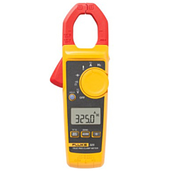 Fluke Electronics FLUKE-325 Digital Clamp-on Meter - 40/400 AC/DCA, 600 AC/DCV, Temp. & Freq., True-RMS