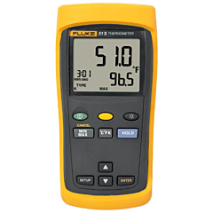Fluke Electronics FLUKE-51-2 Single Input Digital Thermometer -418-3212°F (-250-1767°C)