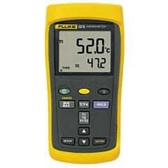 Fluke Electronics FLUKE-52-2 Dual Input Digital Thermometer -418-3212°F (-250-1767°C)