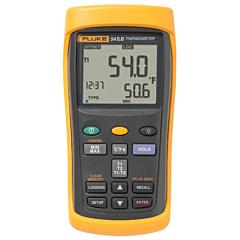 Fluke Electronics FLUKE-54-2B Dual Input Digital Thermometer w/USB Recording -418-3212°F (-250-1767°C)