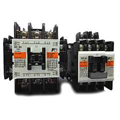 Fuji Electric 4ND0Q0 Series AC Contactors - 20A, Reversing w/ACV Coil
