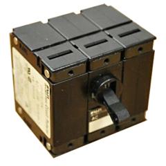 Fuji Electric CP33EM Series Circuit Protectors - 3-Pole w/Series Trip & Medium Time Delay