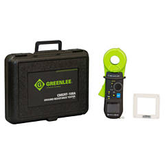 Greenlee CMGRT-100A Clamp-on Ground Resistance Tester - 1500  Ohm w/Memory