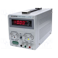 GW Instek  GPS-1830D - Single Output Linear DC Power Supply - 18DCV/3DCA