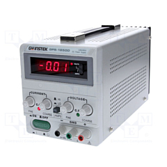 GW Instek  GPS-1850D - Single Output Linear DC Power Supply - 18DCV/5DCA