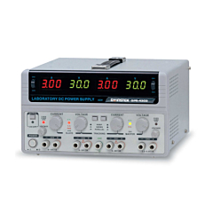 GW Instek  GPS-4303 - 4 Channel Multi-Output Linear DC Power Supply - 30DCV/3 DCA, 2.2-5.2DCV/1 DCA, 8-15DCV/1 DCA