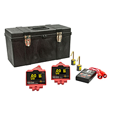 HD Electric DDVIP-138/K01 Double Vision® Dual Display Wireless Voltage Indicating Phaser KIT01 - 100V-138kV w/Proof Tester