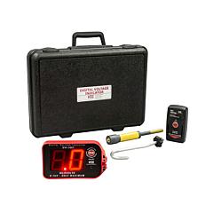 HD Electric DVI-100T/K02 Digital Voltage Indicator w/Test Point Mode - 100 kV KIT02 w/Underground Bushing Probe & Proof Tester