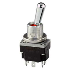 Honeywell 2MT1-1 Toggle Switch DPDT, 2-Pole, 3-Position w/Solder Termination