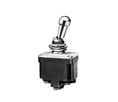 Honeywell 2TL1-7 Toggle Switch DPDT, 2-Pole, 3-Position w/Screw Termination