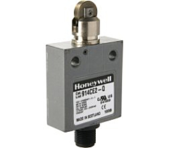 Honeywell 914CE2-Q Limit Switch - SPDT, 3A, Snap-Action w/Top Roller Plunger