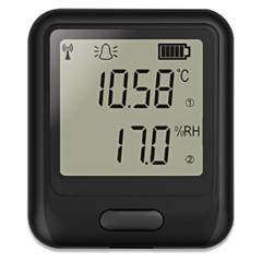 Lascar Electronics EL-WIFI-TH+ Temperature & Humidity Data Logger w/Display (High Accuracy)
