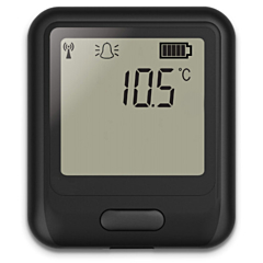 Lascar Electronics EL-WIFI-ULT Temperature Data Logger w/Display for Vaccines in Cryogenic Storage
