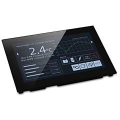 "Lascar Electronics SGD 70-A PanelPilotAce Operator Interface w/Programmable 7.0"" Color Touchscreen Display & DCV Power"