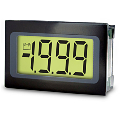 Lascar Electronics SP 200 Digital Panel Meter - DCV Input w/3.5-Digit Low Profile LCD Display & DCV Power (12-pin)
