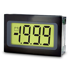 Lascar Electronics SP 400 Digital Panel Meter - DCV Input w/3.5-Digit Low Profile LCD Display & DCV Power (9-pin)