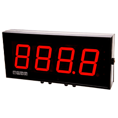 Laurel Electronics Magna Series Large Digit Display - 4-Digit w/RS232/RS485 Serial Data Input