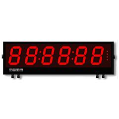 Laurel Electronics Magna Series Large Digit Display - 6-Digit w/RS232/RS485 Serial Data Input