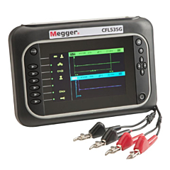 Megger CFL535G - TDR Time Domain Reflectometer / Cable Fault Locator - Dual Channel