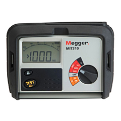 Megger MIT310-EN - Insulation & Continuity Tester - 250V, 500V, 1000V