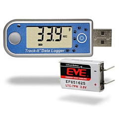 Monarch Instruments 5396-0102 Track-It Temperature Data Logger w/Display & Long Life Battery
