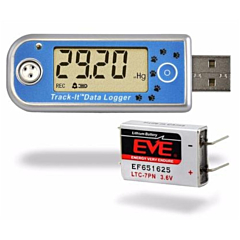 Monarch Instruments 5396-0322 Track-It Barometric Pressure/Temperature Data Logger w/Display & Long Life Battery