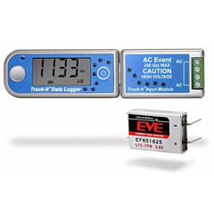 Monarch Instruments 5396-0712 Track-It AC Event Data Logger w/Display & Long Life Battery