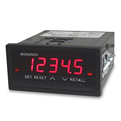 Monarch Instruments ACT-3X Panel Mount Tachometer & Totalizer