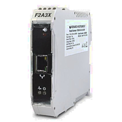 Monarch Instruments F2A3X Signal Conditioner / Frequency to Analog Converter w/12-24 DCV Power, Communications & Alarms