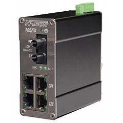 N-Tron 105FX Unmanaged Ethernet Switch
