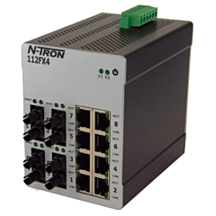 N-Tron 114FX6 Unmanaged Ethernet Switch