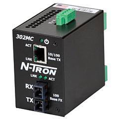 N-Tron 302MC-N Unmanaged Media Converter w/Monitoring