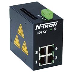 N-Tron 304TX-N Unmanaged Ethernet Switch w/Monitoring