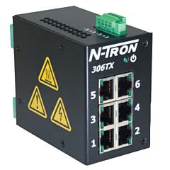 N-Tron 306TX-N Unmanaged Ethernet Switch w/Monitoring