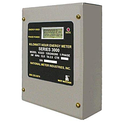 National Meter Industries K3223-400 - Single Phase Kilowatt Hour Energy Meter