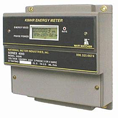 National Meter Industries K4240-400 - Three Phase Kilowatt Hour Energy Meter