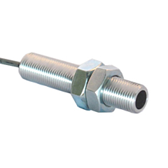 "Phares MHTS0303-04 High-Temp Mini Hall Effect Sensor w/5/8-18 3.0"" Thread, 5-24VDC w/Sinking NPN Square Wave Output"