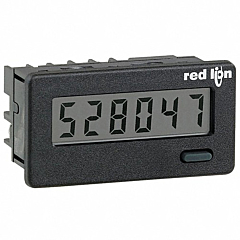 Red Lion Controls CUB4L000 6-Digit Digital Counter w/Non-Backlit LCD Display