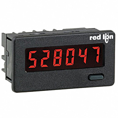 Red Lion Controls CUB4L020 6-Digit Digital Counter w/Red Backlit LED Display