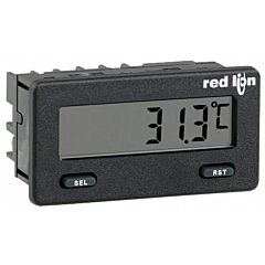 Red Lion Controls CUB5TCR0 Temperature Meter - Miniature 5-Digit w/Reflective Display