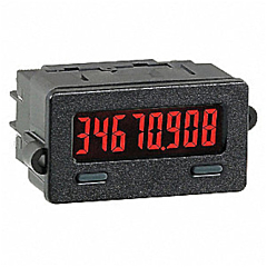 Red Lion Controls CUB7T Series Miniature 8-Digit Timer